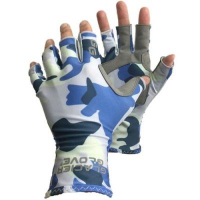 Islamorada Sun Glove - Blue Camo